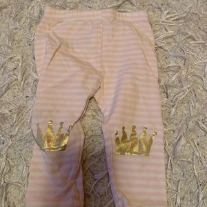 Baby girl gap leggings- princess print